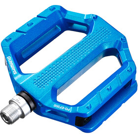 Shimano PD-EF202 Flat Pedals blue